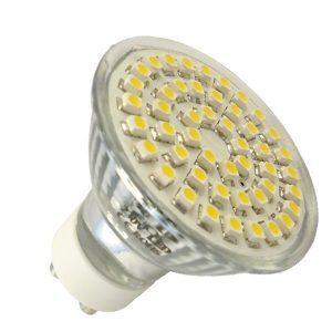 GU10 Spot 48 SMD LED Warm wit