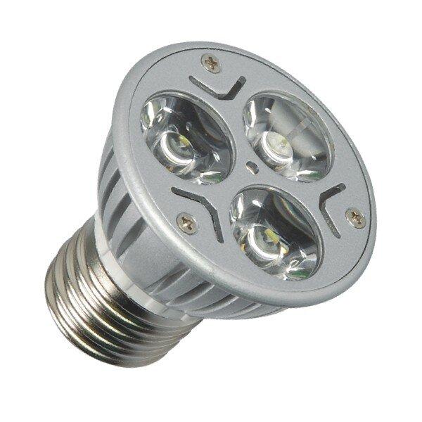 E27 LED Spot 3 x 1 Power Led Warm wit