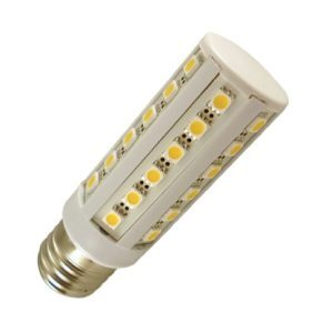 E27 Led lamp 36 SMD Warm wit