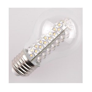 LED Gloeilamp E27 60 LED helder glas warm wit