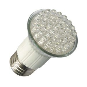 E27 LED Spot 38 Led JDR Warm wit
