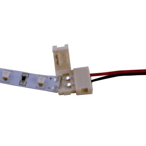 LED strip verbinding 8 mm met draad