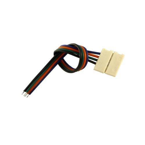 RGB LED strip verbinding met draad