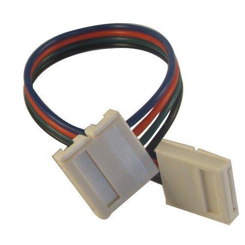 RGB LED strip verbinding 2-zijdig met draad