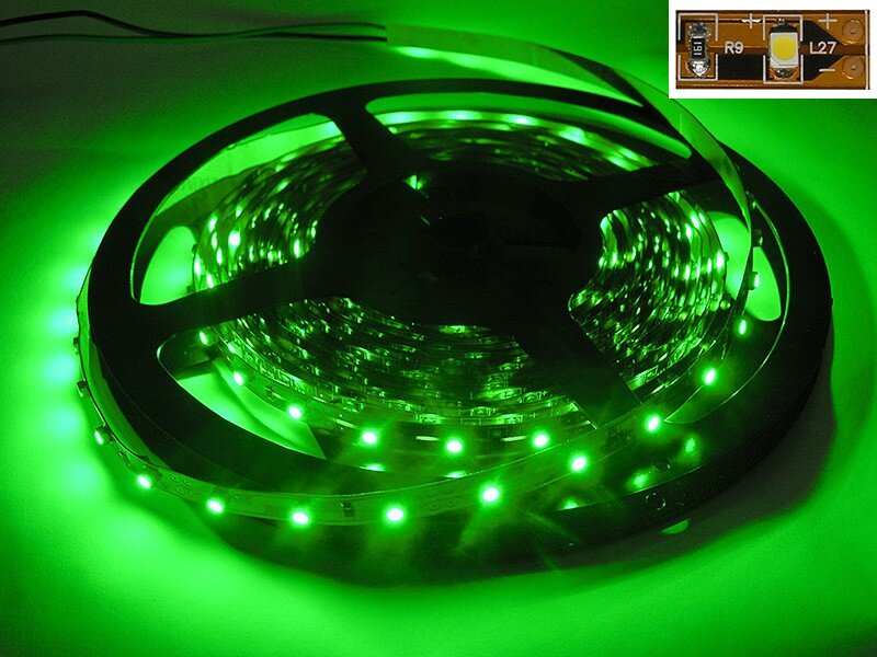 5 Meter Led Strip Groen 300 LEDs