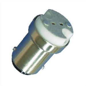 BA15S naar MR11 fitting 12 of 24 volt