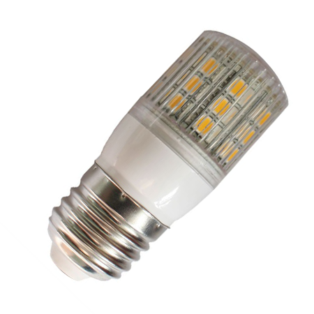 E27 Ledlamp 24 SMD 12 of 24 Volt Warm wit