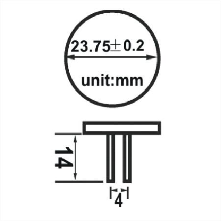 afmetingen BACK pin Gu gu4 6 smd led lamp boot verliuchting multie voltage 10-30v 12v 24v warm wit