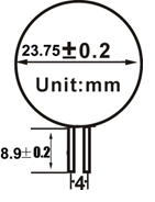 afmetingen g4 / gu4 6smd led boot verlichting