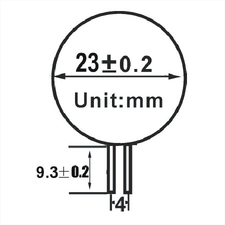 G4 / GU4 led lamp 3 SMD LED Warm wit