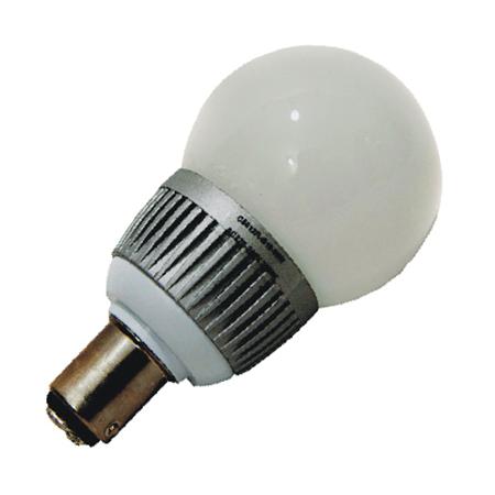 Ba15D LED Bol lamp 12v en 24v volt Warm wit