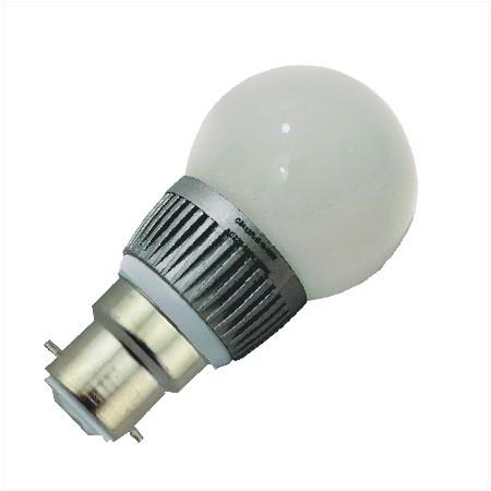 B22 LED Bol lamp 12v en 24v volt Warm wit