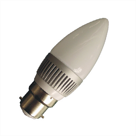 B22 LED kaarslamp 12v en 24v multi voltage