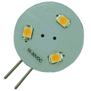 G4/GU4 led lamp 3 SMD LED Warm wit