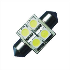 31MM S8 Festoon Buislamp 4SMD Warm wit