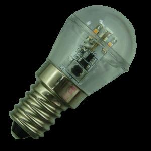 E14 Led lamp 12 SMD 12 of 24 Volt Warm wit