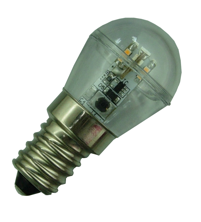 E14 Led lamp 12 SMD 12 of 24 Volt Warm wit