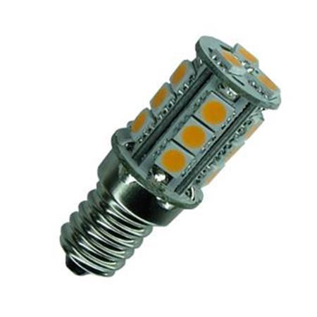 E14 Led lamp 18 SMD 12 of 24 Volt Warm wit-0