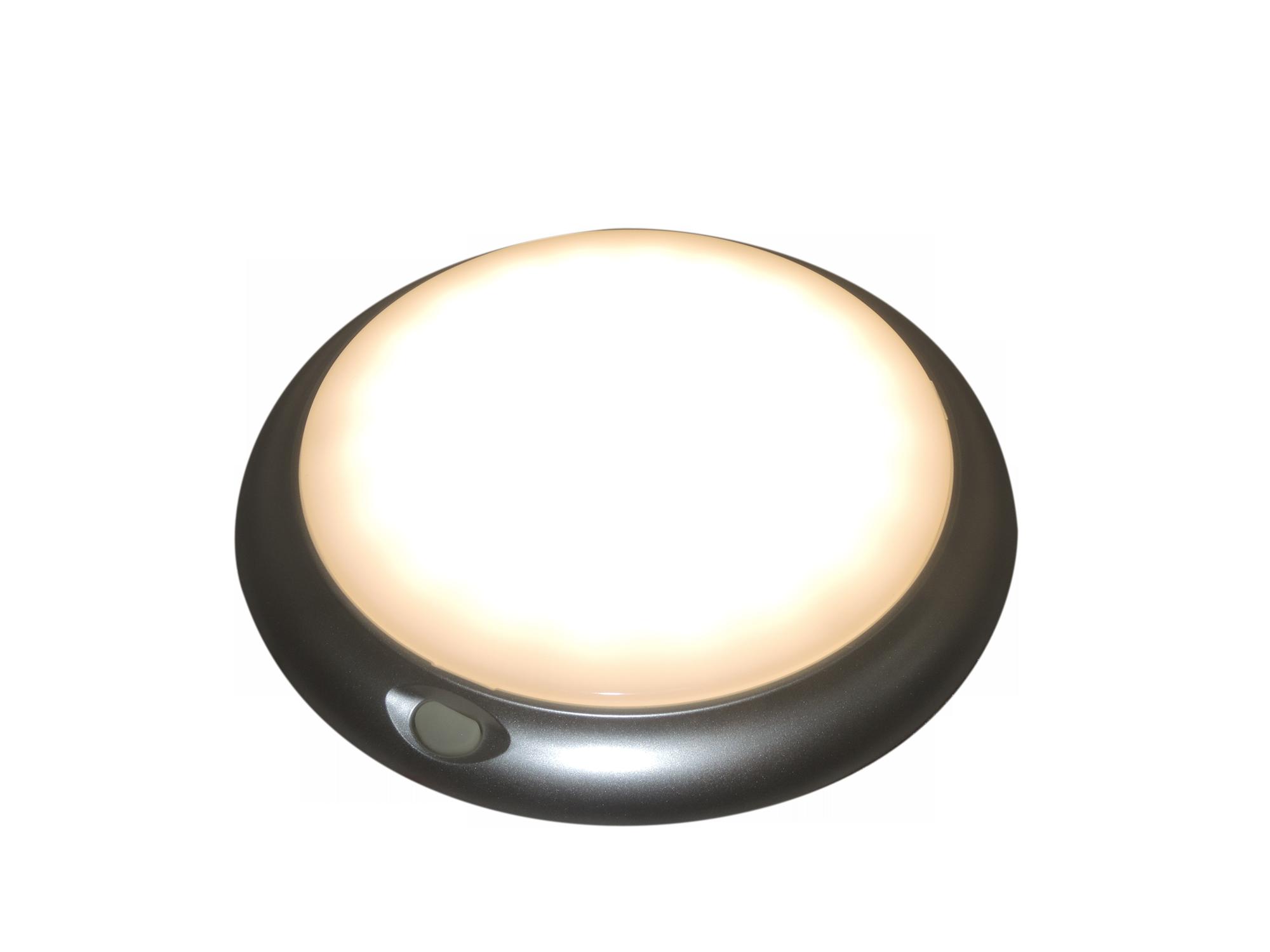 12 volt 24 volt 10-30 volt Rood en Warm wit LED plafonnière met schakelaar.
