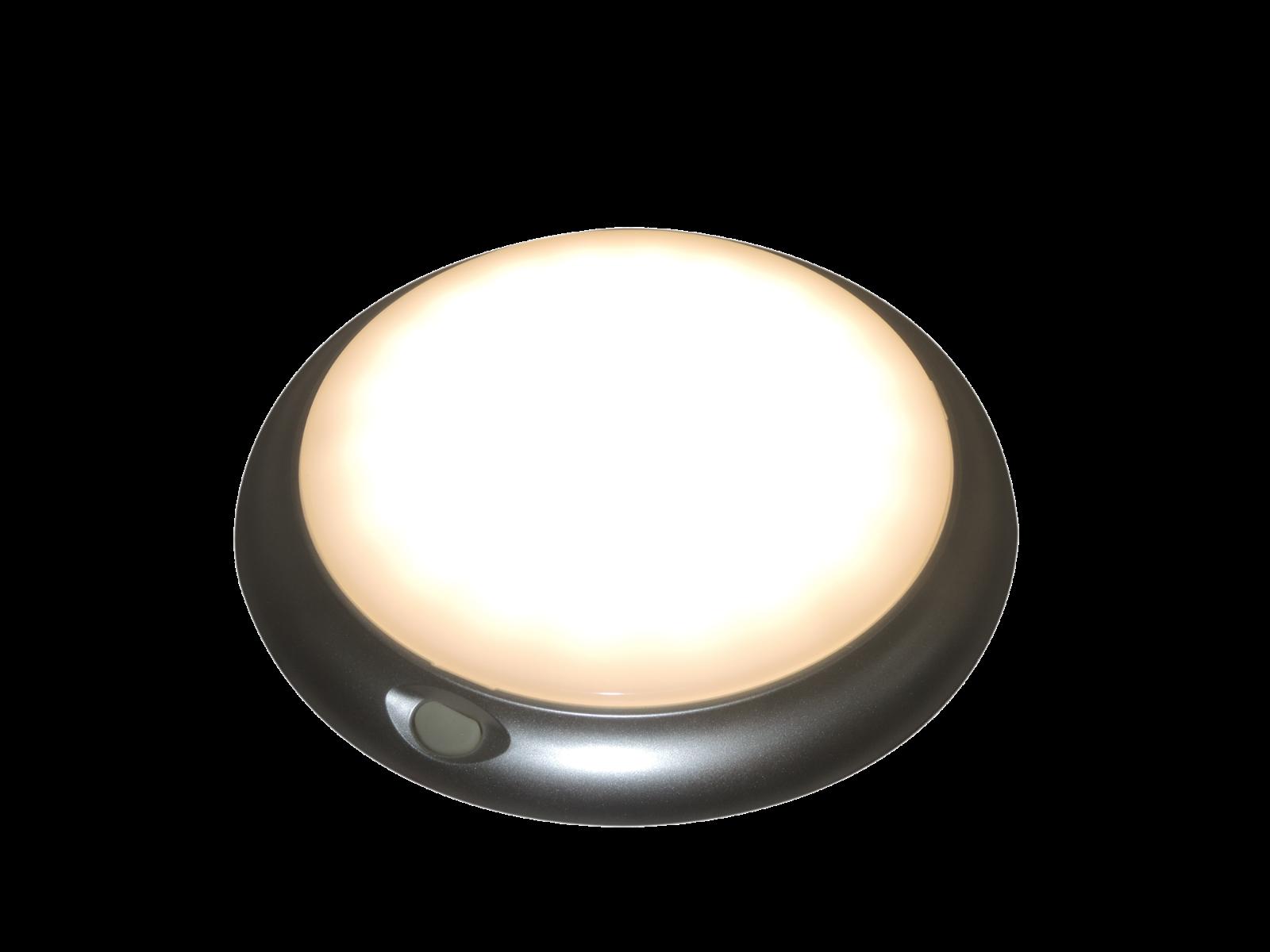 LED plafonnière met schakelaar en nacht stand (Rood)-1313