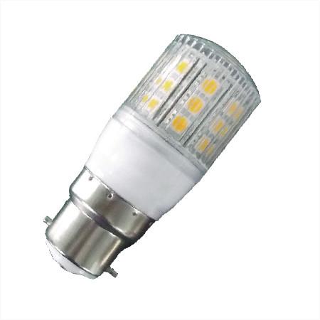 B22 witte LED lamp 12v en 24v multi voltage