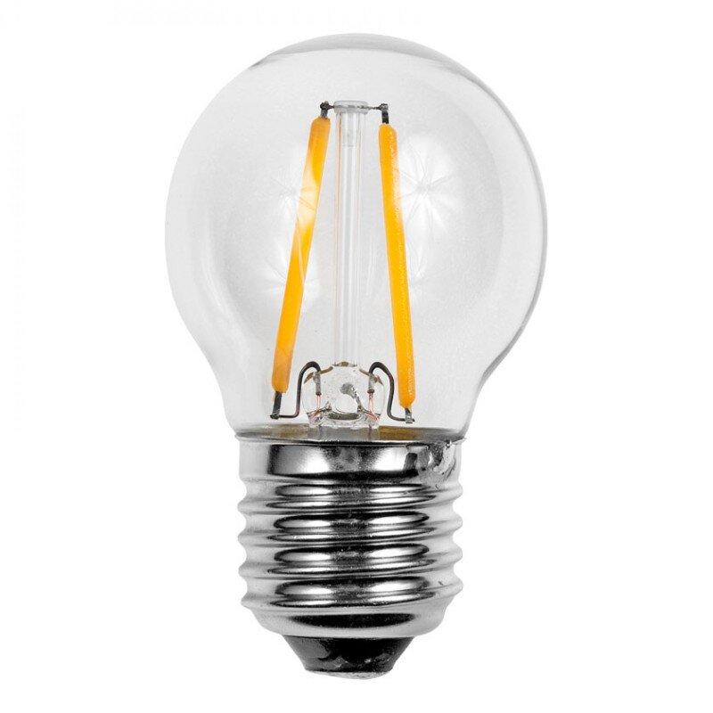12V en 24 volt E27 Filament G45 lamp 2 watt