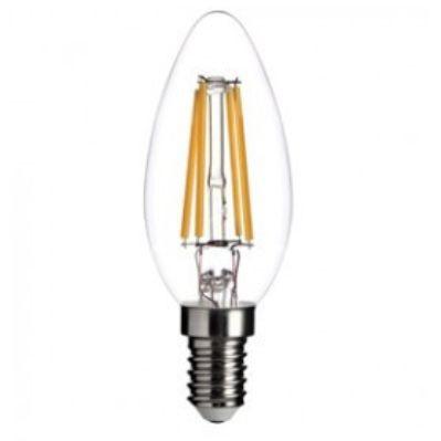 E14 24 volt Filament kaarslamp 4 watt