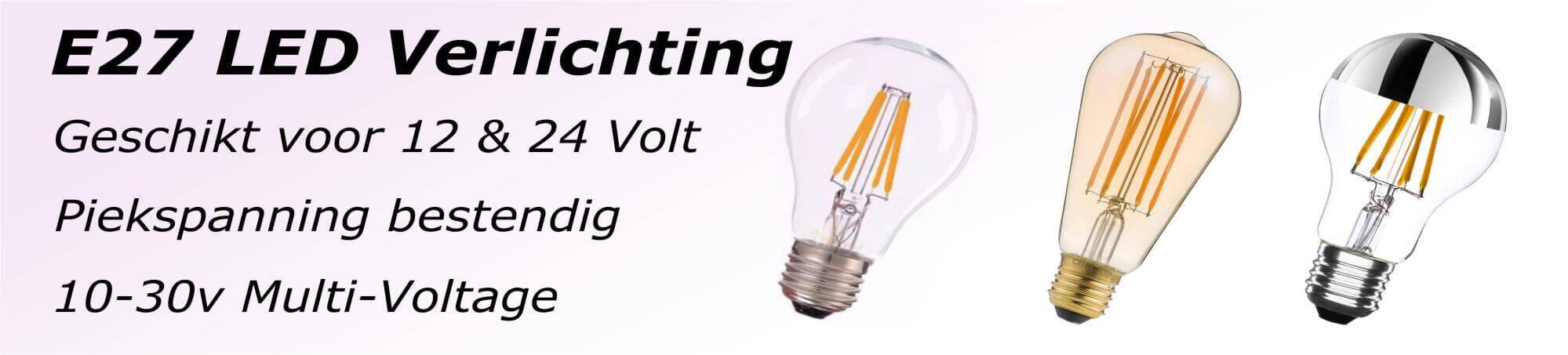 12v-24v-e27 led-lampen-verlichting