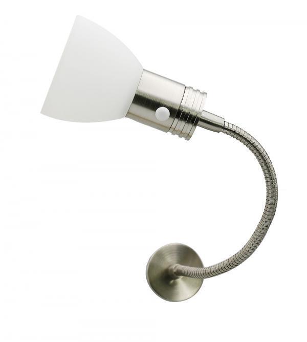 12v en 24v LED Leeslamp met zwanenhals en een aan uit Schakelaar