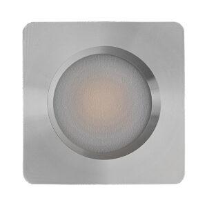 Platte vierkante inbouwspot 12v en 24v multi voltage